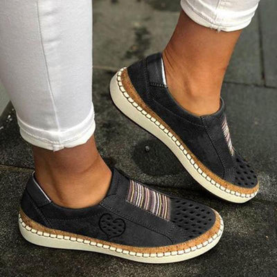 Women All Season PU Flat Heel Casual Sneakers(Second -30% by code:BTS30)