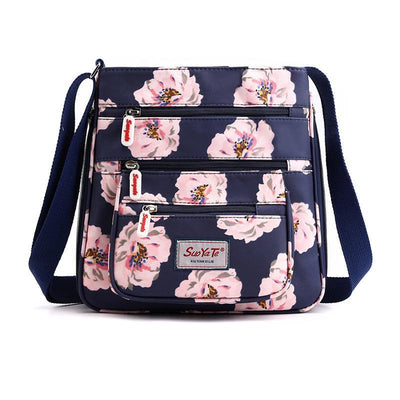 Waterproof Nylon Printing Ladies Shoulder Bag Fashion Wild Oxford Cloth Messenger Bagsecond -30% By