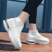 Womens Breathble Mesh Air Cushion Flying Sneakers Women Shoes