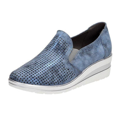 Womens Fashion Stylish Hollow-Out Casual Slip-On Shoes Women