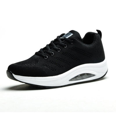 Women's Mesh Breathable Knitted Air Cushion Sneakers