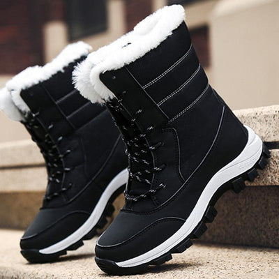 Womens Winter New High-Top Thick Cotton Shoes Women