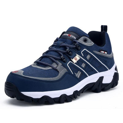 Mens Mesh Breathable Steel Toe Safety Puncture-Proof Sneakers Men Shoes