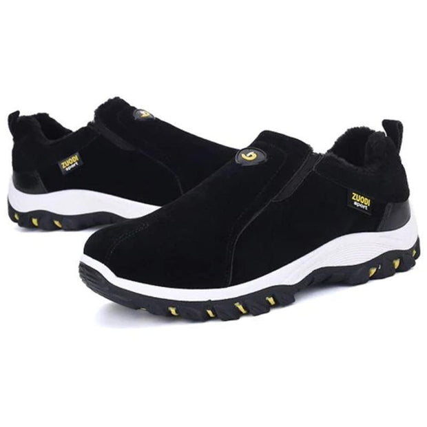 Mens Solid Colors Soft Bottom Non-Slip Slip-On Sneakers Men Shoes