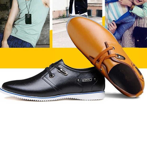 Mens Low-Top Casual Shoes Flats Men