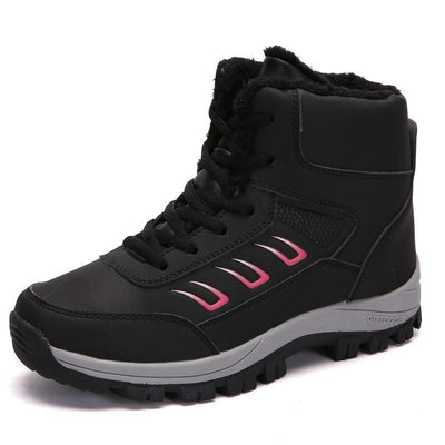 Womens Plus Velvet Cotton Warm Snow Boots Non-Slip Waterproof Sneakers Women Shoes