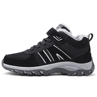 Mens Non-Slip Soft Bottom Sports Plus Velvet Shoes Men