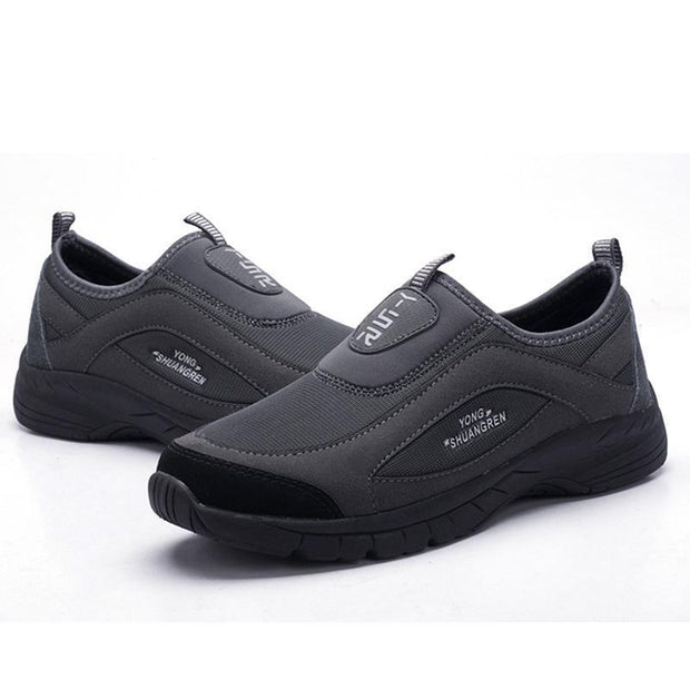 Mens Mesh Breathable Athletic Sports Casual Slip-On Sneakers Men Shoes