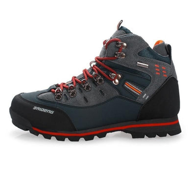 Mens Mesh Polyester Waterproof Breathable Outdoor Hiking Camping Boots Men Shoes