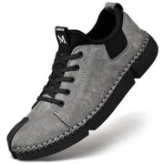 Mens Large Size Sewing Bottom Handmade Casual Shoes 137419 Smokey Gray / Us 6 Men