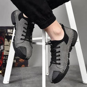 Mens Large Size Sewing Bottom Handmade Casual Shoes Men