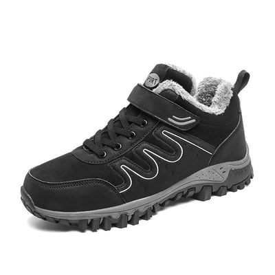 Men Cotton Shoes Anti-Slip Walking Casual Travel Sports