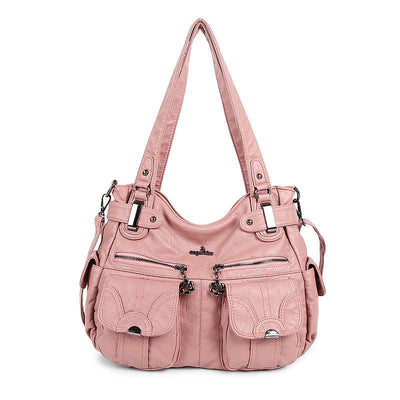138450 Womens Korean Version Of The Trend Multi-Function Washable Shoulder Bag Women Bags Luggages