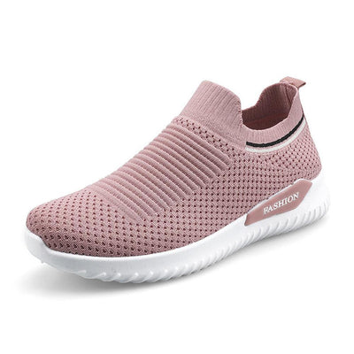 Women Mesh Breathable Slip On Athletic Running Casual Sport Shoessecond -30% By Codebts30 Shoes