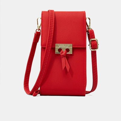 Womens Solid Color Cellphone Bag Crossbody Women Bags Luggages