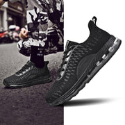 Mens Large-Size Mesh Breathable Wear-Resistant Palm Cushion Sneakers Men Shoes