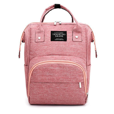 139466 Womens Multi-Function Mummy Bag Fashion Casual Backpack Large Capacity Maternal And Child