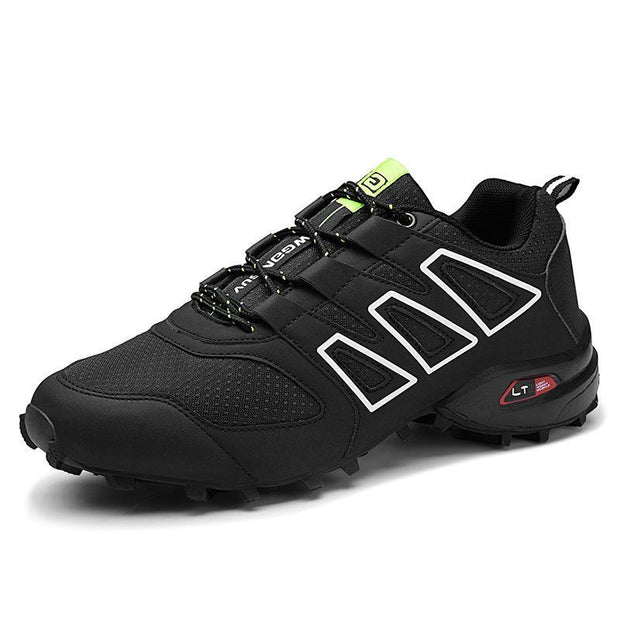 Mens Fashion Outdoor Casual Sports Hiking Shoes 117813 Black / Us 6.5 Men