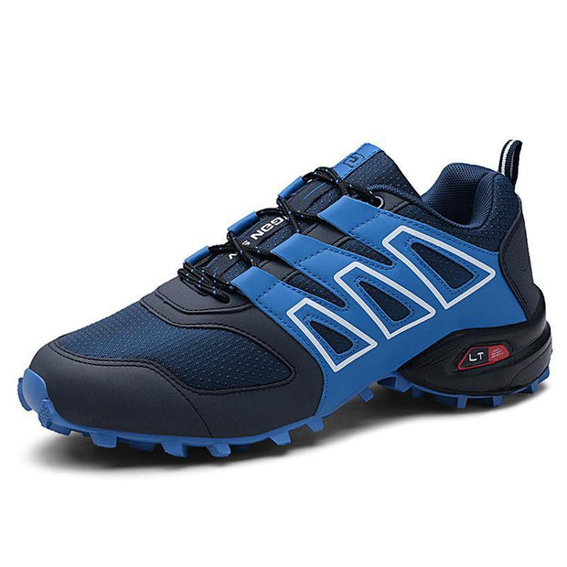 Mens Fashion Outdoor Casual Sports Hiking Shoes 117813 Blue / Us 6.5 Men