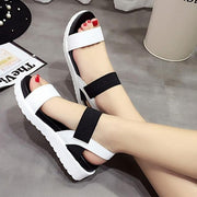 Women Flat Shoes Peep-Toe Sandalias Roman Sandals Casual Shoes Ladies Flip Flops Footwear 131088