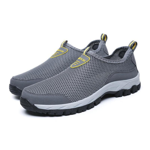 Mens Causal Mesh Non-Slip Wear-Resistant Outdoor Sneakerssecond -30% By Codebts30 Men Shoes
