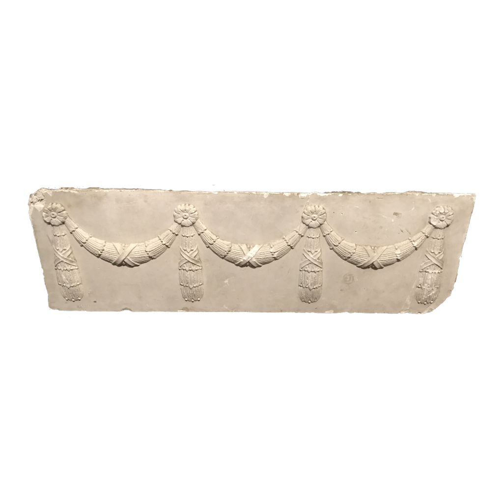 19th Century American Plaster Freize