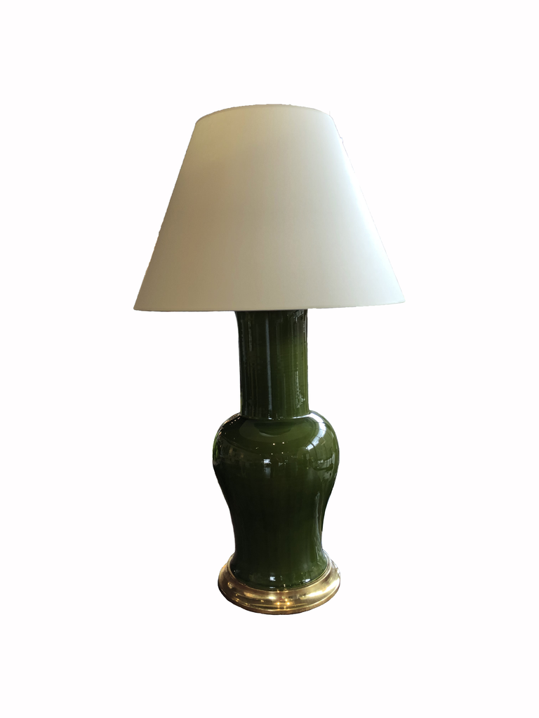 Garniture Lamp in Spruce