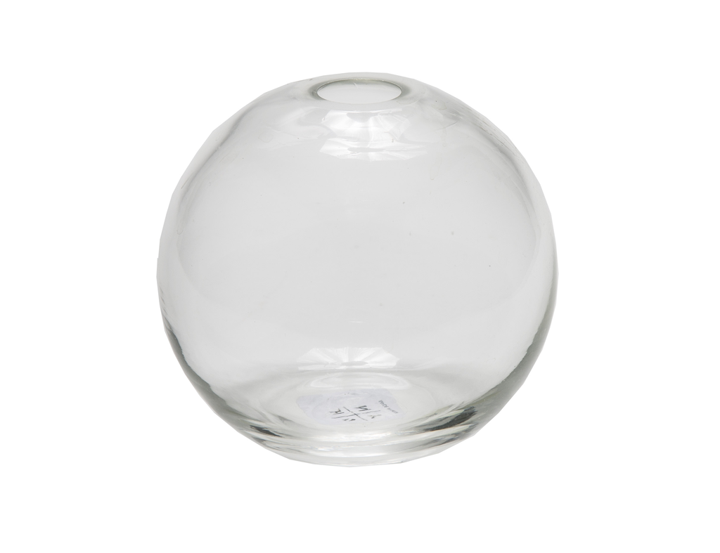 Aurora Sphere Vase in Clear
