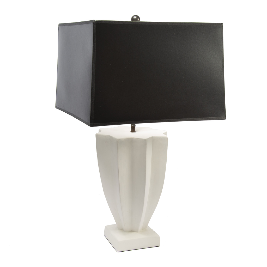 Plaster Table Lamp