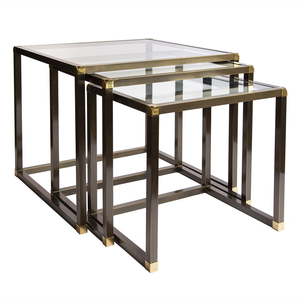 Brass Nesting Tables