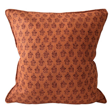Sanganer Terracotta Cushion