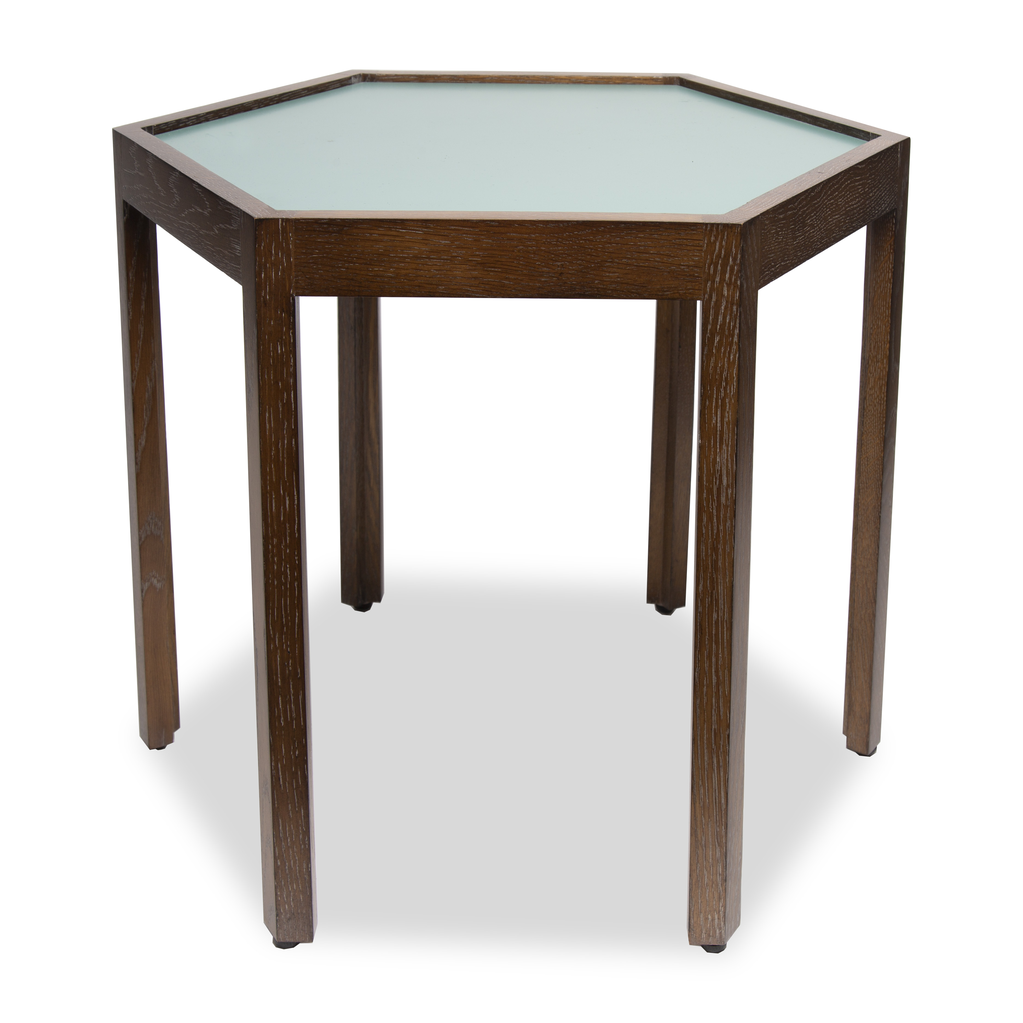 Bunching Table with Teal Top