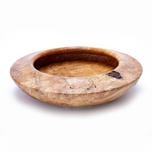 Bowl with Reverse Curl Rim