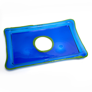 Transparent Rectangular Tray
