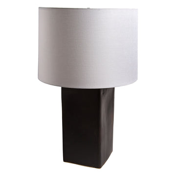 Large Square Ceramic Lamp