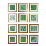 Set of 12 Weaving Examples
