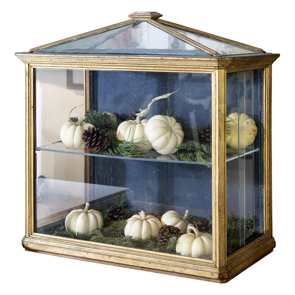 French Giltwood Vitrine