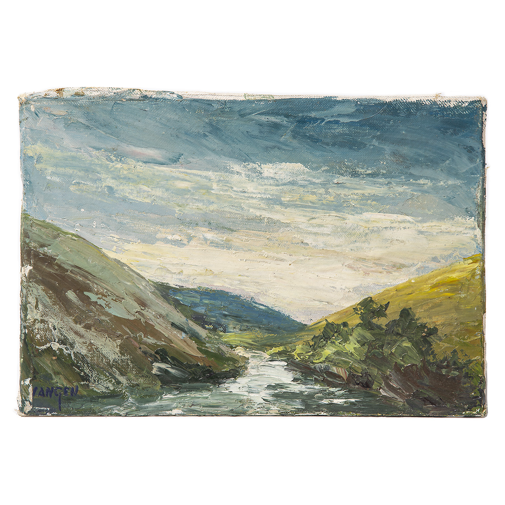 Petite River Valley Painting