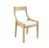 Alexa Chair in Natural