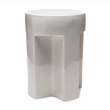 European Ceramic Stool