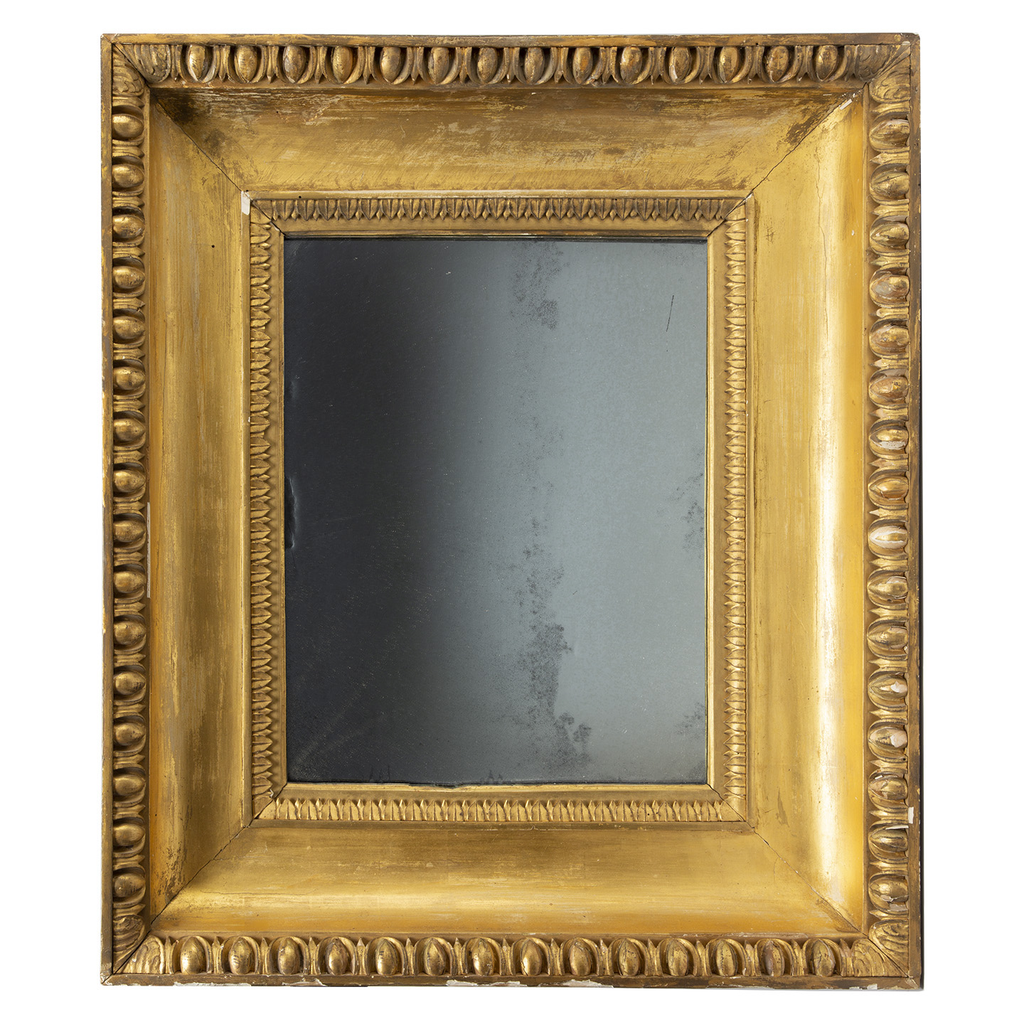 Antique Mirror with Very Deep Frame