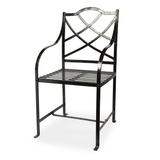 Pair of Black Garden Chairs
