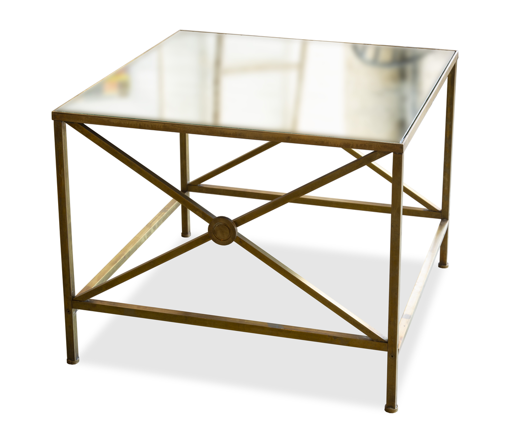 Vintage Brass Side Table