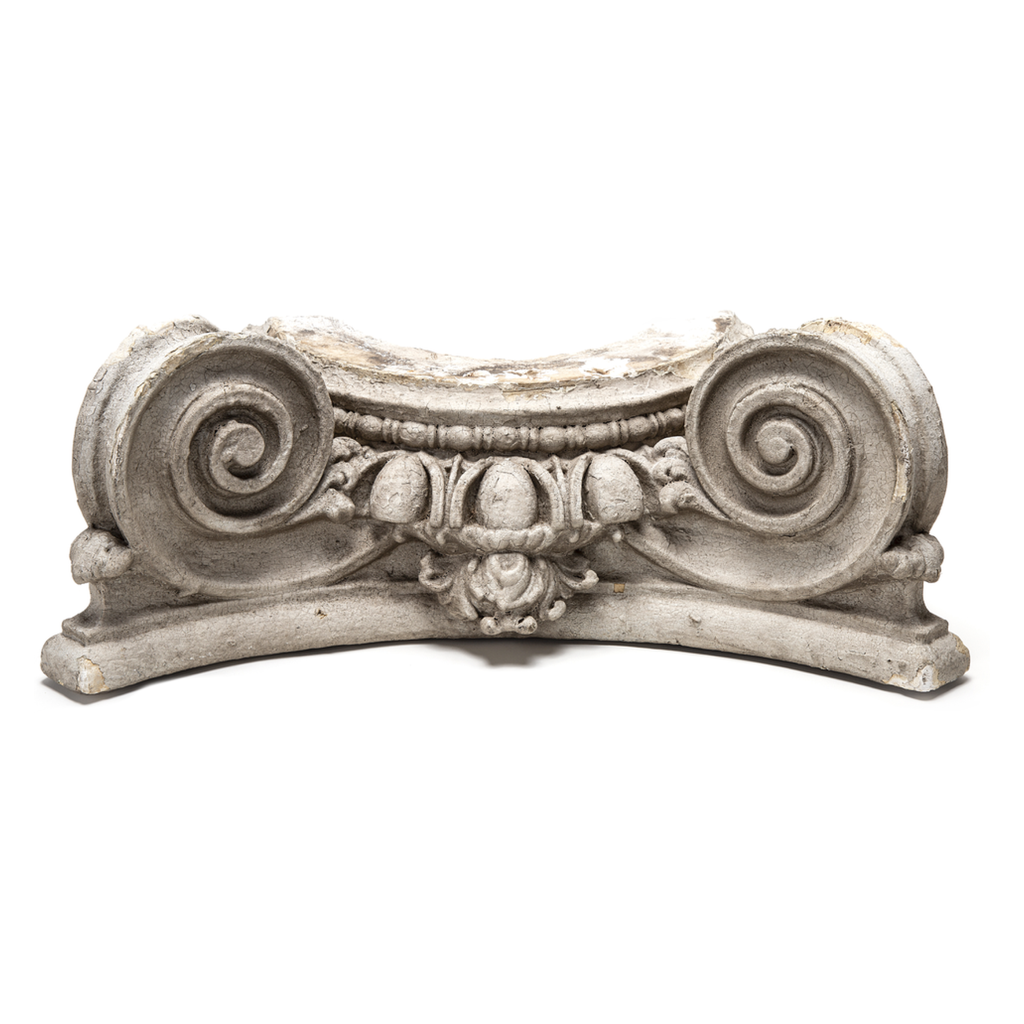 19th Century Plaster Capital