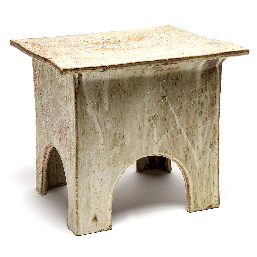 Handcrafted Ceramic Side Table