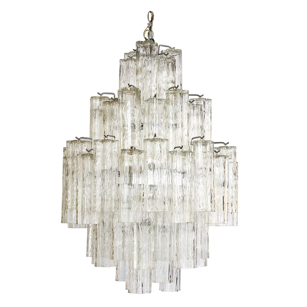 Mid 20th Century Murano Glass Chandelier