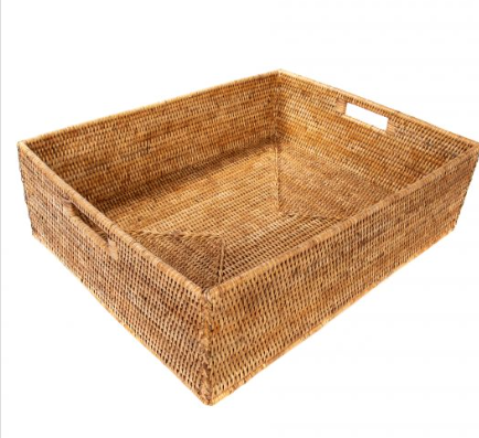 Woven Deep Rectangle Tray