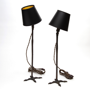 Bronze Cast Bird Leg Table Lamp