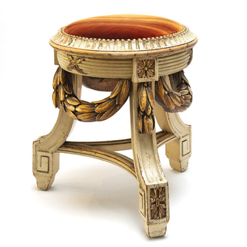 Neoclassical Louis XVI Style Tabouret