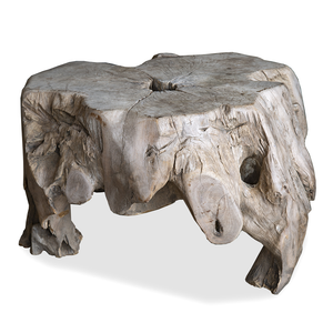 Organic Wood Aged Root Table
